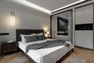 140平米三室两厅轻奢风格卧室图片