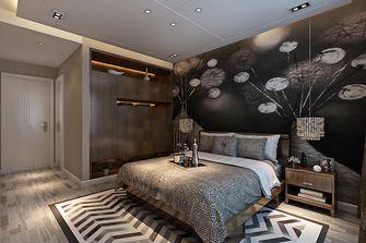 90平米三室两厅港式风格卧室图