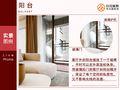 10-15万三室三厅现代简约风格阳台图