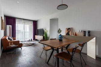 富裕型80平米三室一厅美式风格餐厅装修效果图
