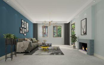 富裕型140平米复式北欧风格客厅装修案例