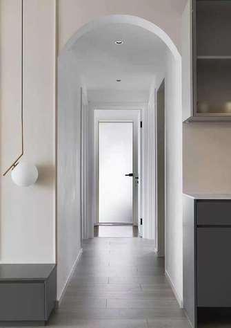 经济型90平米三室两厅法式风格走廊图