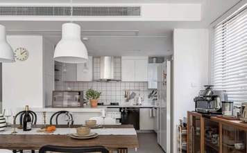 60平米一居室欧式风格厨房装修图片大全