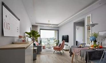经济型80平米北欧风格客厅装修图片大全