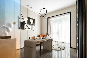 10-15万130平米三室一厅混搭风格书房装修图片大全