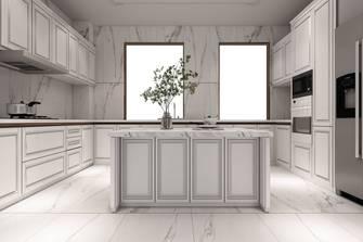 20万以上140平米别墅法式风格厨房装修效果图