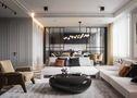 富裕型130平米北欧风格客厅装修案例