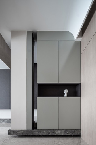 豪华型140平米四现代简约风格玄关图