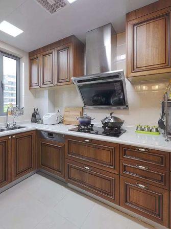 美式风格厨房图