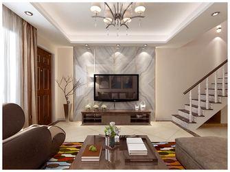 经济型140平米别墅混搭风格客厅装修效果图