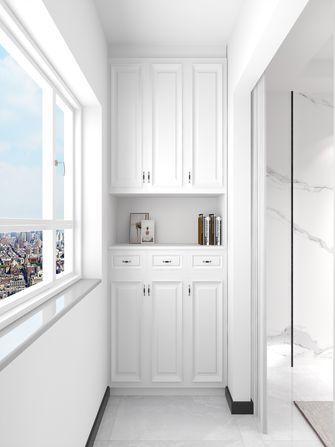 10-15万100平米三室一厅轻奢风格阳台欣赏图