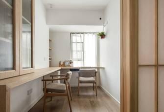 20万以上90平米三室两厅北欧风格书房装修案例