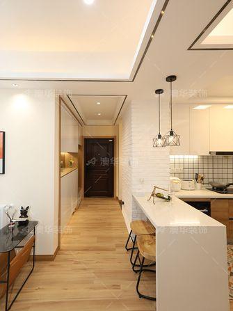 20万以上100平米三室两厅北欧风格走廊图
