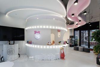 豪华型140平米复式公装风格客厅装修案例