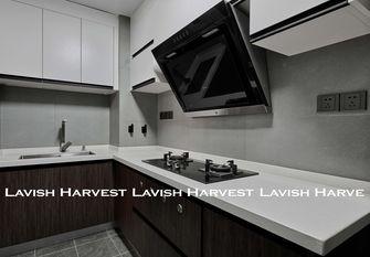 70平米三美式风格厨房装修效果图