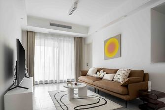 20万以上120平米三室两厅北欧风格客厅装修效果图