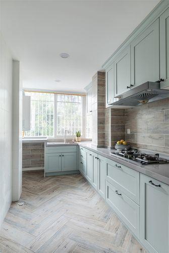 10-15万80平米北欧风格厨房装修案例