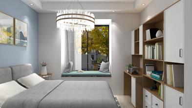 三室两厅北欧风格卧室装修效果图