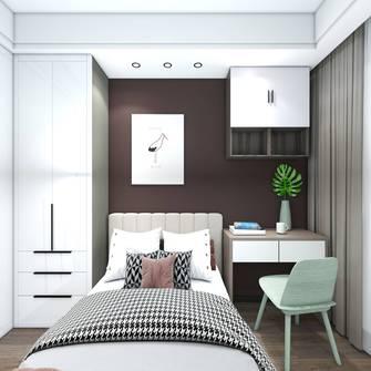 3万以下70平米三室一厅现代简约风格卧室装修案例