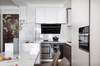富裕型三室一厅现代简约风格厨房装修图片大全