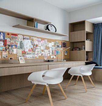 富裕型140平米三混搭风格书房图片大全