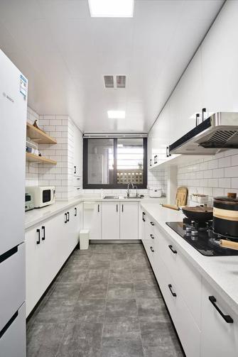 130平米四日式风格厨房装修图片大全