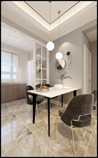 60平米三室一厅现代简约风格餐厅装修效果图