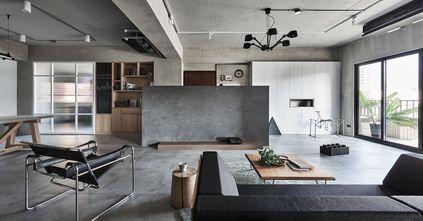富裕型140平米四室两厅工业风风格客厅图片