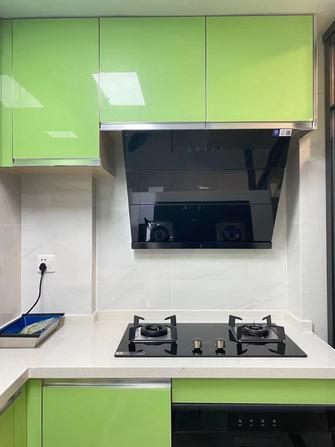 60平米一居室混搭风格厨房欣赏图