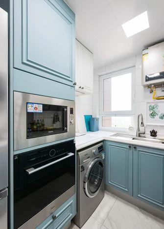 3-5万80平米一室一厅美式风格厨房装修图片大全