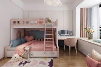 100平米三室两厅北欧风格青少年房设计图