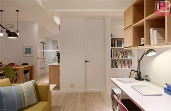 70平米日式风格书房设计图