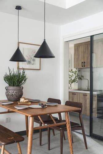 130平米三室两厅北欧风格餐厅欣赏图