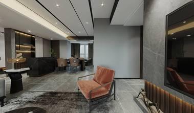 140平米三室两厅轻奢风格餐厅装修图片大全