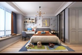 140平米四轻奢风格卧室装修图片大全