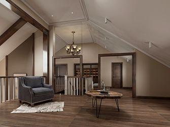 豪华型140平米三室两厅美式风格阁楼装修效果图