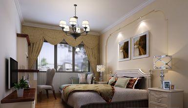 100平米三田园风格卧室图片