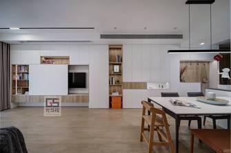 90平米三现代简约风格餐厅图片