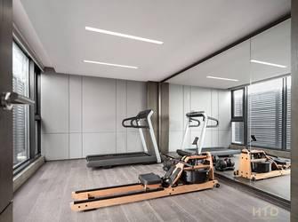 140平米别墅现代简约风格健身房设计图
