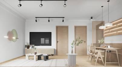 豪华型80平米日式风格客厅装修图片大全