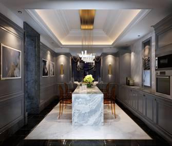 豪华型140平米别墅新古典风格厨房欣赏图