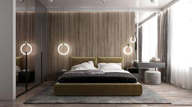 20万以上120平米三室两厅现代简约风格卧室装修效果图