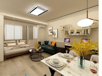 经济型40平米小户型轻奢风格客厅图片