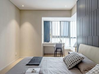 130平米三室两厅混搭风格卧室设计图