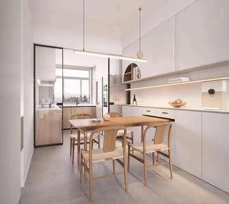 5-10万110平米田园风格厨房欣赏图