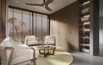 三室三厅现代简约风格阳台设计图