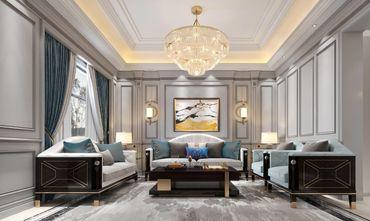 110平米三室一厅混搭风格其他区域效果图