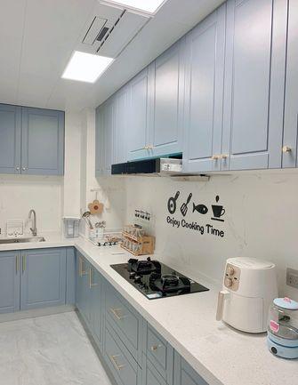 经济型80平米三室两厅北欧风格厨房装修案例