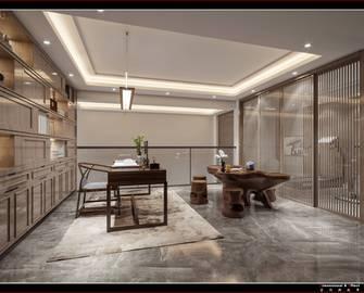 豪华型140平米别墅现代简约风格书房装修效果图