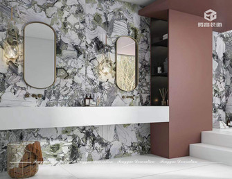 140平米复式公装风格卫生间装修图片大全